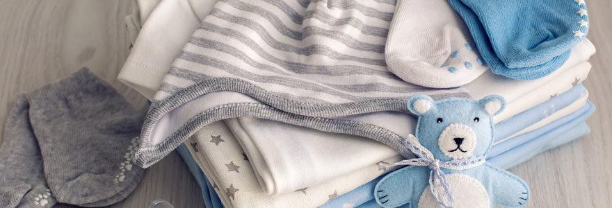 Achat de vêtements bébé en ligne