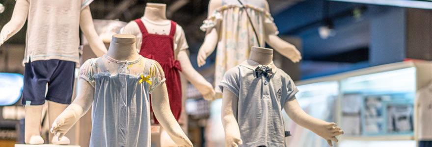 tendances de vêtements pour enfants